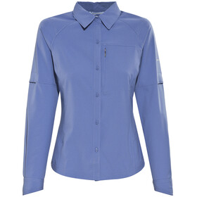 Columbia Silver Ridge Longsleeve Shirt Women blue